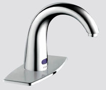 electronic single handle mixer tap for washbasin KP-90314020 KEMP SANITARY WARE