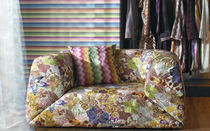 embroidered fabric for upholstery GRAVITÀ MISSONI HOME