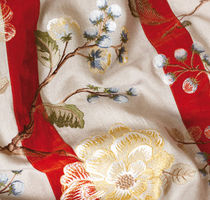 embroidered fabric for upholstery HOLCOTT GP & J BAKER