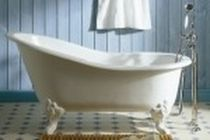 enameled cast iron bath-tub on legs MARIE LOUISE - 0706 Herbeau