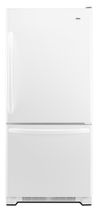 energy efficient bottom mount refrigerator (Energy Star certified) ABB2224WEW Amana