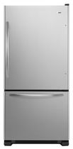 energy efficient bottom mount refrigerator (Energy Star certified) ABB1924WES Amana