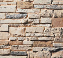 engineered stone cladding for façade WHITE OAK CULTURED STONE