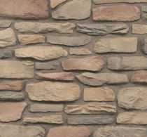 engineered stone cladding for façade SANGRIA CULTURED STONE