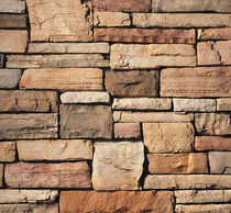 engineered stone cladding for fa&ccedil;ade CARAMEL CULTURED STONE