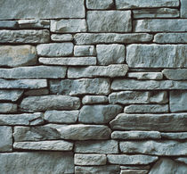 engineered stone cladding for façade GRAY CULTURED STONE