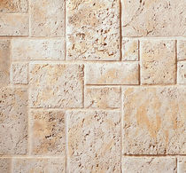 engineered stone cladding tile (interior) FOSSIL REEF CULTURED STONE