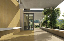engineered stone paving tile for outdoor floors CITYGLAM&reg; : STRATOS GIALLO CITYTILE'S