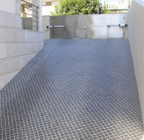 engineered stone paving tile for outdoor floors ORIGENS EMPEDRADO Grupo Amop Synergies