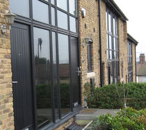 entrance door with sidelight BELLWAY HOMES Accsys Technologies