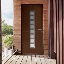 entrance door with window pane TOTEM K-Line