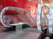 escalator handrail (advertising) ADRAIL™  EHC Global