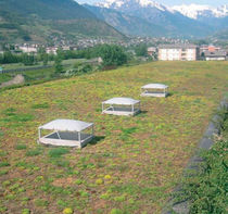 extensive green roof system PERLIROOF® - EXTENSIVE PERLITE ITALIANA