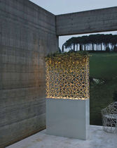 exterior contemporary stone floor lamp DAFNE DE CASTELLI