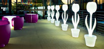 exterior design thermoplastic floor lamp TULIP S-XL Myyour