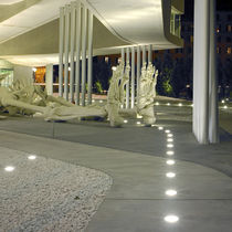 exterior in-ground light for public space 8803 BEGA