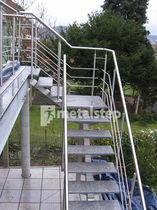 exterior quarter turn staircase SCALA  metalstep