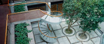 exterior spiral staircase for commercial buildings by Aukett Associates Hubbard