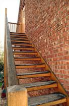 exterior straight staircase  Pear Stairs