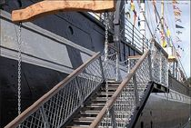 exterior straight staircase for commercial buildings  TDS Midlands