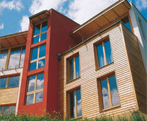 exterior wood strip cladding  Binderholz
