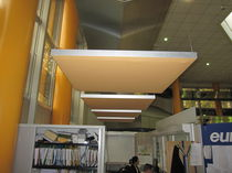 fabric covered acoustic ceiling tile CAPTEUR ACOUSTISSIMO® CAT-AL DECIBEL FRANCE