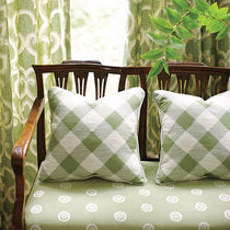 fabric for upholstery GATEHOUSE : IKAT CHECK THIBAUT