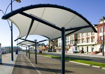 fabric shelter for public spaces CLASSROOM Fabric Architecture