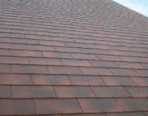 fiber-cement roofing (slate imitation) POMMAY Eternit