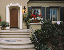 fiber glass arched entrance door CLASSIC-CRAFT&reg; RUSTIC COLLECTION&amp;trade; THERMA-TRU DOORS