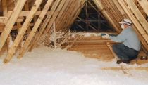 fiber glass loose-fill insulation INSULSAFE® Certain Teed