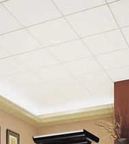 fiberglass acoustic tile for suspended ceiling  All Noise Control