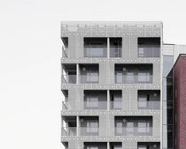 fibre reinforced concrete facade cladding FibreC 3D Rieder Smart Elements GmbH