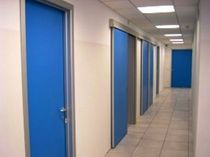 fire door for commercial buildings  ALUTECNICA sas