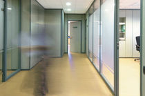 fire proof glass removable partition M82 Movinord