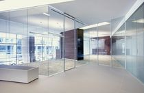 fire proof glass removable partition (with aluminium profiles)  Gemino