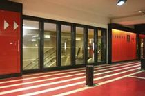 fire proof tempered glass panel PYROSTOP VISI  Miroiterie RIGHETTI