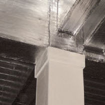 fire-resistant rigid rockwool insulation panel TD BOARD® Promat