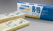 fire-resistant semi-rigid glass wool insulation panel DRYRIGHT™ Certain Teed