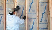 fire-resistant semi-rigid glass wool insulation panel SPEEDY®  Certain Teed