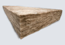 fire-resistant semi-rigid glass wool insulation panel EARTHWOOL™  ECOINSULATION