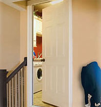 fire-retardant entrance door  THERMA-TRU DOORS