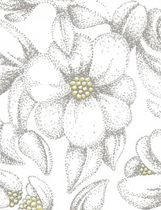 fire-retardant flower fabric (Trevira CS®) BLOOM by Emma Von Brömssen Bantie