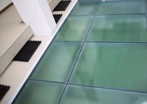 fire-retardant glass panel (for floors) CLEARFLOOR SYSTEM TGP Fire Rated