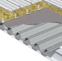 fire-retardant insulated metal roofing panel  SKINZIP