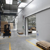 fire sliding industrial door MARC-P IDOMUS Ltd.