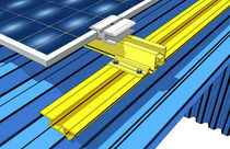 fixing system for photovoltaic laminate (for roofing) SHED PLUS Alubel
