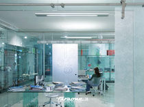 fixing system for glass panels Divisori | Accessori Universali FARAONE Srl