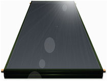 flat-plate solar thermal collector  HTP Inc.