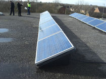 flat roof PV mounting system  BRITMET TILEFORM LTD